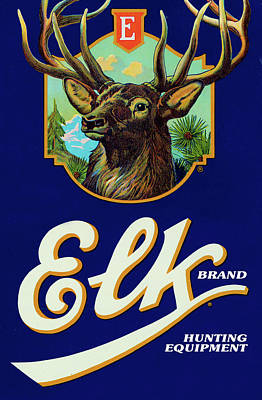 Digital Art - Elk Brand by Gary Grayson