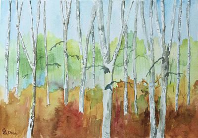 Painting - Elk by Christine Lathrop
