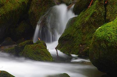 Photograph - Elk Creek Detail 3 by Ken Dietz