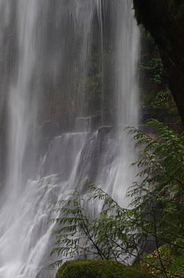 Photograph - Elk Creek Falls Detail by Ken Dietz