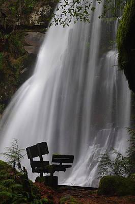 Photograph - Elk Creek Falls Viewpoint 3 by Ken Dietz