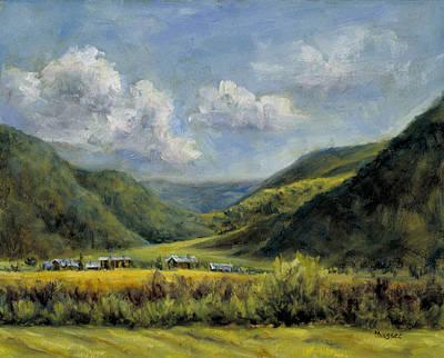 Painting - Elk Creek Ranch by Jill Musser