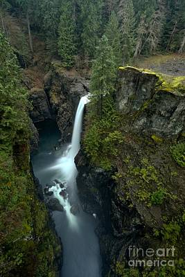 Photograph - Elk Falls In The Gorge by Adam Jewell