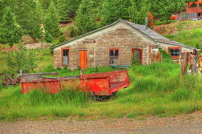 Photograph - Elk Horn Wagon by Richard J Cassato