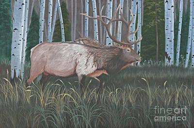 Elk Original by Julie Peterson
