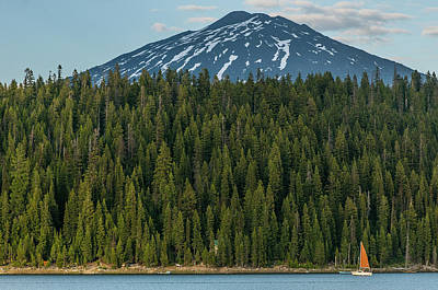 Photograph - Elk Lake Sailing  by Matthew Irvin