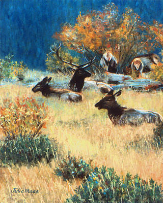 Painting - Elk Meadow by Julie Maas