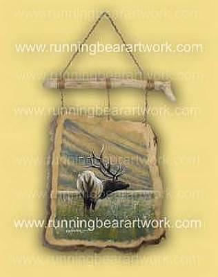 Painting - Elk Meadow by Michael Meissner