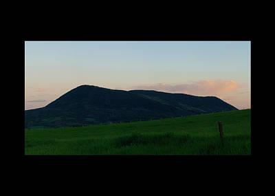 Art Print featuring the photograph Elk Mountain Meadow Sunset by Daniel Hebard