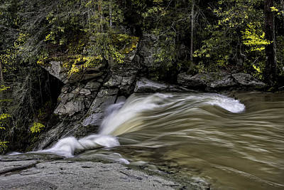 Photograph - Elk River Falls by Ken Barrett