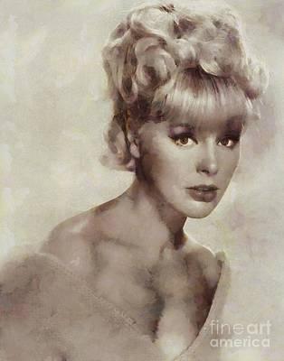 Elke Sommer, Actress Art Print