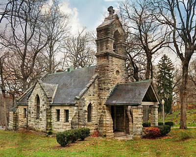 Photograph - Elkhart Illinois Chapel by Marty Koch