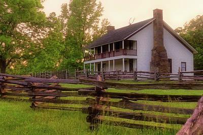 Photograph - Elkhorn Tavern At Pea Ridge - Arkansas - Civil War by Jason Politte