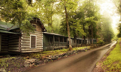 Photograph - Elkmont In The Smokies by Mike Eingle