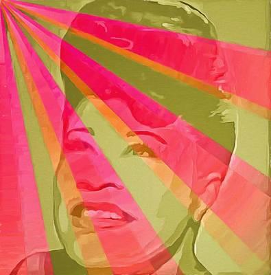 Ella Fitzgerald Pop Art Art Print by Dan Sproul
