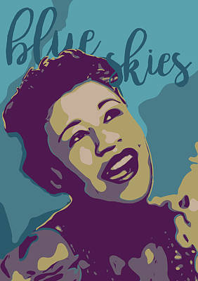 Jazz Royalty-Free and Rights-Managed Images - Ella Fitzgerald by Greatom London