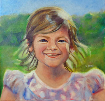 Painting - Ella by Kaytee Esser