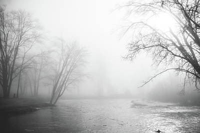 Photograph - Ellacoya Fog by Robert Clifford