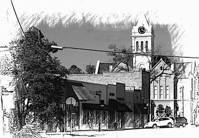 Print featuring the photograph Ellaville, Ga - 3 by Jerry Battle