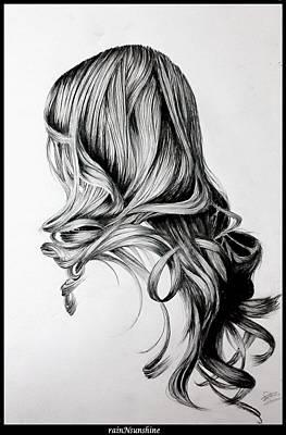 Painting - Elle N'existe Pas by Trinath Sen