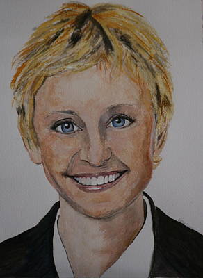 Ellen Art Print by Betty-Anne McDonald