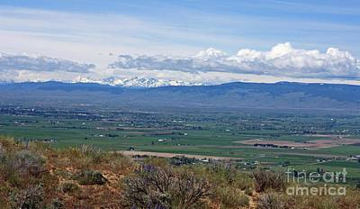 Photograph - Ellensburg Valley With Sagebrush And Lupine by Carol Groenen