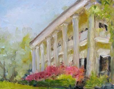 Natchez Painting - Ellerslie by Susan E Jones