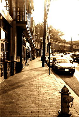 Photograph - Ellicott City Street by Utopia Concepts