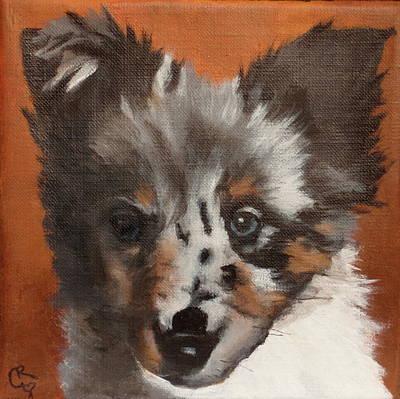 Painting - Ellie by Carol Russell