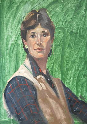 Painting - Ellie Mae by Len Stomski
