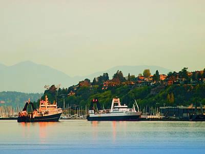 Photograph - Elliot Bay by Jim DeLillo