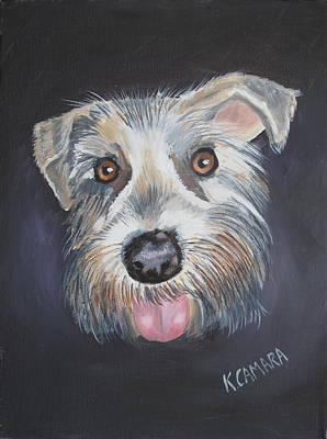 Elliot, The Therapy Dog Art Print by Kathie Camara