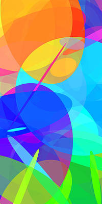 Ellipses 15 Art Print