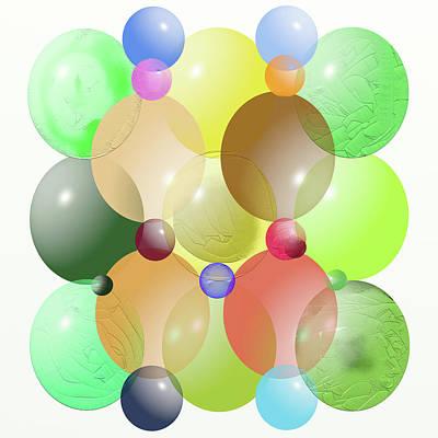 Photograph - Ellipses Spheres by SC Heffner
