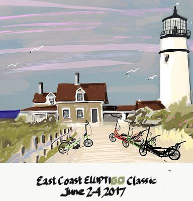 Painting - Elliptigo Art by Francois Lamothe