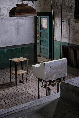 Photograph - Ellis Autopsy Room by Tom Singleton