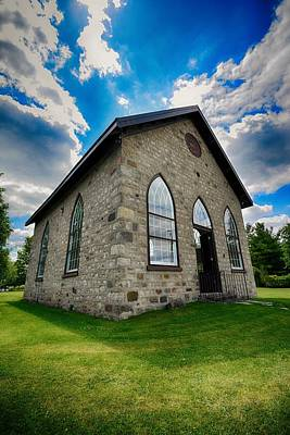 Photograph - Ellis Chapel by Karl Anderson