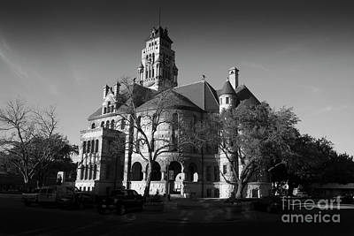 Photograph - Ellis County Courthouse, Waxahachie, Texas by Greg Kopriva
