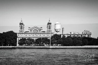 Photograph - Ellis Island by Delphimages Photo Creations