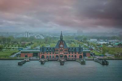 Photograph - Ellis Island by Elvira Pinkhas