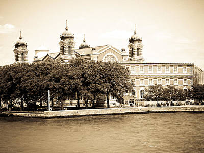 Photograph - Ellis Island by Mickey Clausen