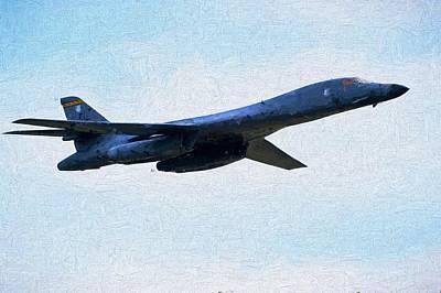 B1b Photograph - Ellsworth B-1b by JC Findley