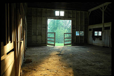 Photograph - Ellwood Barn 2 by Althea Sumpter