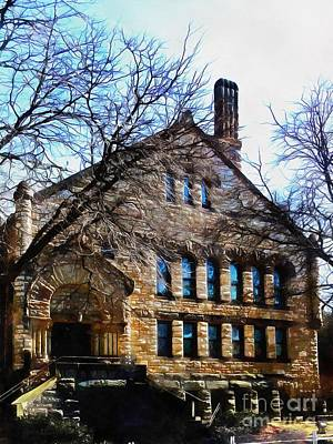 Photograph - Elm Park Church Scranton Pa by Janine Riley