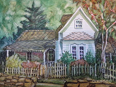 Painting - Elma's Home by Gretchen Allen
