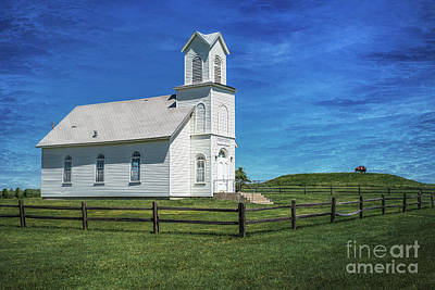 Photograph - Elmdale Christian Church by Lynn Sprowl