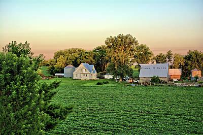 Photograph - Elmer Deike Farm by Bonfire Photography