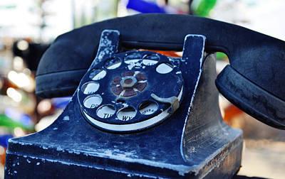 Elmer Long's Bottle Tree Ranch Telephone Original