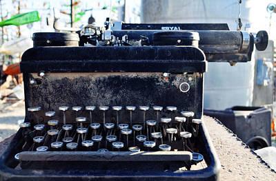 Elmer Long's Bottle Tree Ranch Typewriter Original