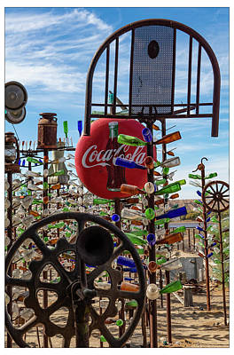 Photograph - Elmer's Bottle Ranch by Gary Warnimont